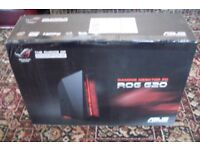 Brand New open Box ASUS ROG G20 Quad Core Gaming PC. FX-770K, 8GB RAM, 128 SSD + 1TB, Radeon R9 GPU