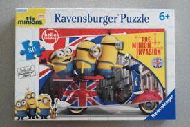 NEW Ravensburger Minions Movie 80pc Jigsaw Puzzle