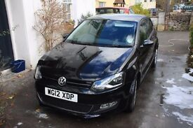 Excellent condition, 2012 Volkswagen Polo 1.4 SEL 5dr (automatic)