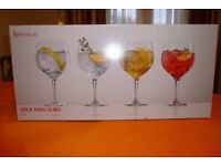 Gin & tonic glasses