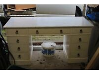 Shabby Chic Vintage Desk / Dressing Table