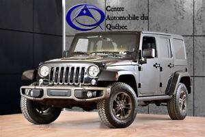 2016 Jeep WRANGLER UNLIMITED Sahara 75e  NAV HITCH 259$/2SEM+TX