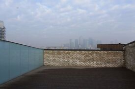 @ Stunning 2 bed 2 bath apartment - HUGE TERRACE - Canary Wharf views - Gym & Concierge!