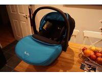 Silver Cross Simplicity Baby Car Seat - Blue