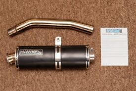 Exhaust & Screen for Tiger 800
