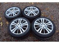 "Genuine Range Rover Sport 20"" Alloy Wheels 275/40R20 Tyres HST Autobiography"