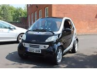 SMART FORTWO CITY PULSE AUTO BLACK 6 SPEED LOW MILEAGE
