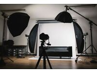 Photography Studio for Hire in Derbyshire