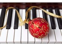 Piano and Saxophone Tuition - Christmas Offer