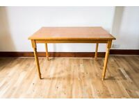Solid pine dining table or desk