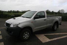 2013 Toyota Hilux Single Cab