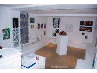offering a private gallery to rent in BRICKLANE