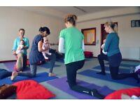 Yoga with Baby Classes - Tollcross/Fountainpark area