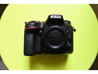 Nikon d7200 dslr camera body