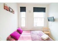 -BRIGHT AND NEWLY REFURBISHED PROPERTY IN WEST KENSINGTON AVAILABLE IMMEDIATELY WITH PRIVATE BALCONY