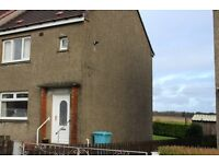 Shotts/Dykehead ,2 Bedroom end of block house for sale