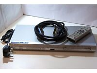 Samsung DVD P-142 Player - Remote and Cable