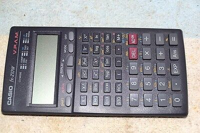 CASIO fx-270W V.P.A.M. SCIENTIFIC/COMPUTER PROGRAMMER ELECTRONIC CALCULATOR