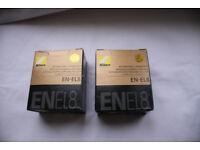 Nikon EN-EL8 Battery for COOLPIX S1 S2 S3 P1 P2 S5 S6 S7 S8 S9 S51 S50 Camera