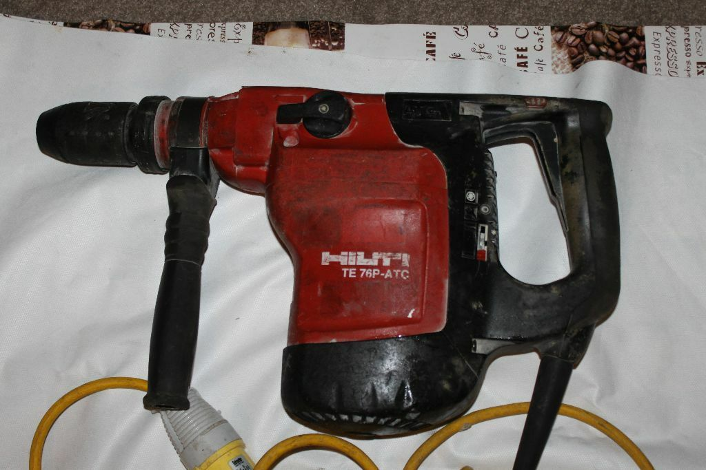 Hilti Te 76p Atc 110v Hammer Drill Breaker In Falkirk