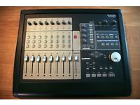 Tascam FW-1082 audio mixer; 10 ch in/4 ch out