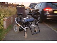 OTTOBOCK A200 aluminium Powerchair 6mph serviced with new batteries charger FREE DELIVERY AND DEMO