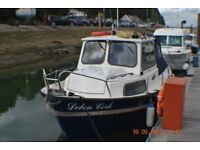 """""""USED FISHING BOAT """"HARDY"""" FISHER 20 1994 ,NOW INCLUDES HALLMARK DEDICATED TANDEM AXLED TRAILER"""