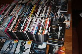 150 mint condition dvds, loads of classic, good quality, high rated films in all genres..some unopen