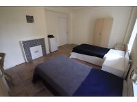 LARGE TWIN ROOM TO RENT IN MORNINGTON CRESENT AREA CLOSE TO THE TUBE STATION. 39C