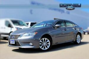2013 Lexus ES 300h LEATHER-SUNROOF-HEATED STEERING