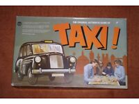 Vintage Authentic Ariel Taxi Board Game Retro Play Fun Dartboard Large Box