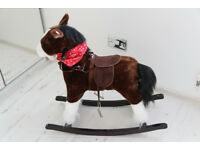 Rocking horse dark brown sound effect for sale
