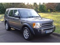 2008 Land Rover Discovery 3 XS 2.7 TDV6.. Diesel.. 7 Seats.. 6 Speed Manual.. FSH..