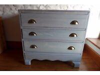 Colour Washed Chest of Drawers
