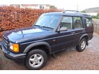 Land Rover Discovery 99 near Dundee. Great traveler and tidy truck.
