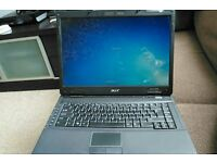 Acer Windows 7 laptop 2 gig of RAM 320 gig hard drive all works fine £60 or may consider swapping