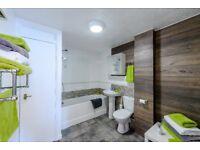 Acton, Great 2 bed flat sleeps 4, Parking, WiFi, Garden. Zone 2, Close Heathrow & Central London.