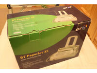 BT Paperjet 35 phone, fax, photocopier and answer machine - Unused and unboxed