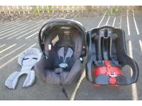 Graco Infant Car seat with Autobaby base