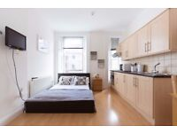 AMAZING SELECTION OF STUDIO FLATS IN SOUTH KENSINGTON! BILLS INC!
