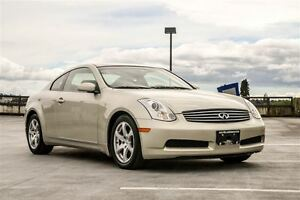 2006 Infiniti G35 Sports Package Langley Location! Low Kilometer