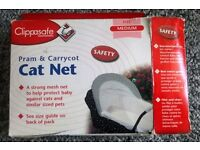 Clippasafe Cat Net for Pram & Carrycot - New