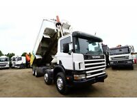 2003 SCANIA 94C 300 8X4 TIPPER TRUCK FOR SALE IN UK DAF TIPPER FOR SALE VOLVO TIPPER FOR SALE