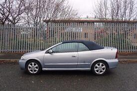 Vauxhall Astra Convertible, 2002, Manual, Petrol, 1.8, 10 Months MOT