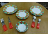 Patio/picnic ware