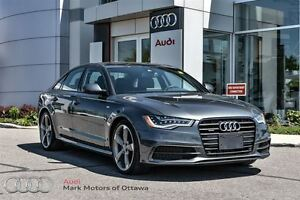2015 Audi A6 2.0T Technik *Certified*