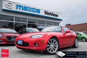 2007 Mazda MX-5 GX MT AC SOFTOP WITH HARDTOP CLEAN CAR