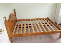 Double bed frame for sale, collection only from Woodley (Reading)
