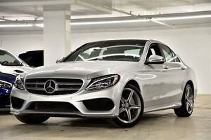 2017 Mercedes-Benz C-Class C300 4MATIC Sedan Ensemble Premium, P