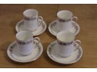 Royal Albert Paragon Belinda Mugs and Saucers